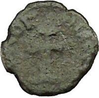 ARCADIUS 404AD Authentic Ancient Roman Coin Cross  i39683