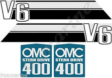 OMC 400 Stringer Stern Drive Decal