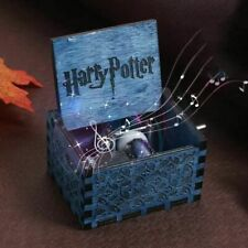 Boîte à musique en bois bleu/noir Music Box Harry Potter NEUF / SOUS EMBALLAGE