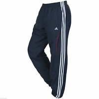 ADIDAS ESSENTIALS 3 STRIPES PANTS SIZE S M TRACKSUIT BOTTOMS CLIMALITE RUNNING