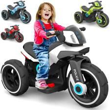Elektrisches Kindermotorrad Elektromotorrad für Kinder Elektroauto Police-Trike