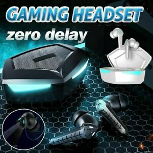 Gaming Headset Bluetooth 5.0 Earbuds Wireless Earphone Surround Sound MIC 2021