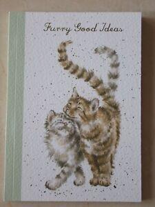 Beautiful WRENDALE A6 Paperback Notebook - FELINE GOOD - CAT - NEW