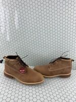 Wolverine Kaden Tan Brown Leather Lace Up Chukka Boots Mens Size 10.5 M