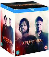 SUPERNATURAL - Complete Series 1-10 Boxset (NEW BLU-RAY)