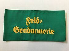 WWII Germany/German Army Feldgendarmerie embroidered armband