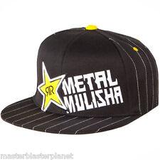 METAL MULISHA ROCKSTAR BARS FLEXFIT FITTED HAT SM/MD FITS 7 - 7 1/8 - 7 1/4 NEW