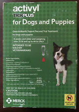 Activyl - Tick Plus Dog (23-44 lbs) 6 dose/6 Months— New Condition