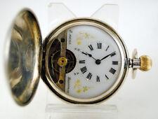 Reloj saboneta HEBDOMAS c.1900