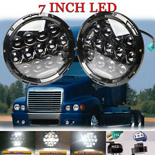 Larson Electronics 0909P4SSUGG 2008 Freightliner Century Class Mid-Roof-Lh Side Roof Mount Spotlight Led 6 Inch Driver Side with Install Kit -Chrome