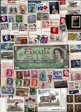 CANADA 1867 1967 Canadian CENTENNIAL one 1 DOLLAR NOTE + MNH stamps lot