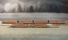 N Scale Bachmann Hong Kong TGV #16 Bullet Train Set w/ 4 Passenger Cars Tested