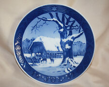 Royal Copenhagen 1952 Christmas Plate - Christmas in the Forest - 1st Quality