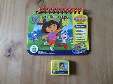 My First LeapPad Dora the Explorer To the Rescue Cartridge &  Book