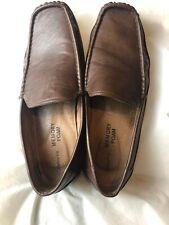 Claiborne Alfonso Mens Moccasins Slip On DK Brown Shoes Memory Foam size 12 M