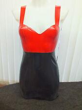 Women's Latex Rubber Dress XS-XXL