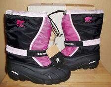 Sorel FLURRY TP Girls Big Kids Winter Insulated Waterproof Boots New NIB US 6