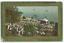 "ESSEX - BANDSTAND, WESTCLIFF 1911 Raphael Tuck ""Framed Glosso"" Postcard"