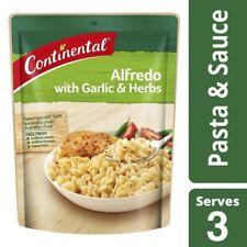 Continental Alfredo Garlic & Herb Pasta & Sauce Serves 3 85g
