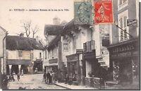 CPA 21 - VITTEAUX - anciennes maisons de la rue de la ville