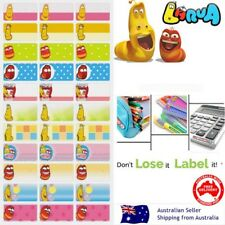 Larva Heroes kids Personalised Name Label preschool back2school pencil sticker