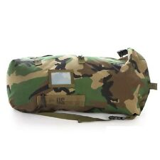 US ARMY woodland camouflage Field Pack Tasche w ALICE Clips