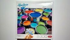 Hasbro 300 piece jigsaw puzzle, colorful paint cans