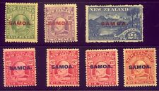 SAMOA  A NICE  COLLECTION of OLD MINT  STAMPS    NO  RESERVE !!!!