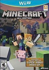Minecraft: Wii U Edition (Nintendo Wii U, 2016) Mint Excellent Condition