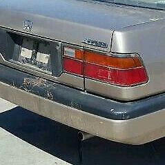 Honda Accord 4 Door, 1986, 1987, 1988, 1989, Right Tail Reverse Light