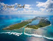 GRAND TURK - Travel Souvenir Fridge Magnet