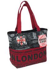 Ladies Robin Ruth Rosso Bus foto London Shopper Bag