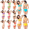 Womens Brazilian Bikini Swimwear Swimsuit Beachwear Bra Tops Triangle Bottom