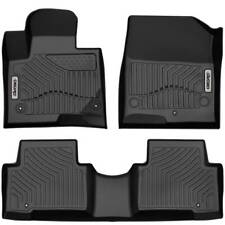 Oedro Floor Mats Liners Unique Tpe for Hyundai Santa Fe 2013-2018 All-Weather