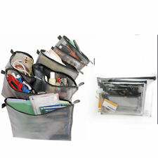 Travelon 7 Packing Mesh Print Envelopes Bag Case Organizer Pouch Storage Travel