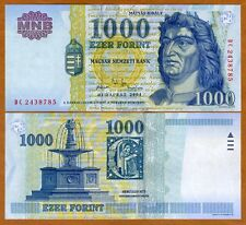 Hungary, 1000 Forint, 2004, Pick 189 (189c) UNC