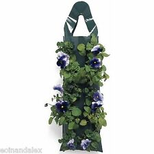 5 X Flower Hanging Bag Pouch Basket Drop - Ideal for strawberries FREE P&P