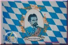 Bayern König Ludwig und Schrift Flagge Fahne 1,35x0,95