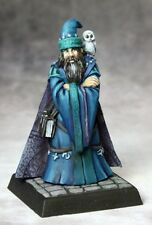 Dr Orontius Reaper Miniatures Pathfinder Wizard Mage Spell Caster Owl Familiar