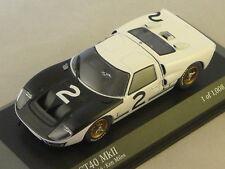 MINICHAMPS 400668492 - FORD GT40 MKII 1966 test 24 heures du Mans 1966 1/43