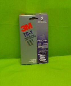 3M Tr-1    2 Stück Minicartridges 400MB