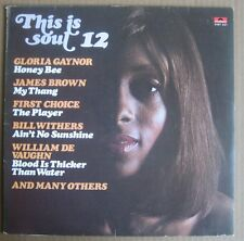 LP THIS IS SOUL FIRST CHOICE JAMES BROWN BILL WITHERS AL WILSON FRED WESLEY JB'S