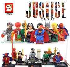 LEGO BATMAN V SUPERMAN JUSTICE LEAGUE WONDER WOMAN FLASH GREEN LANTERN BLOCKS