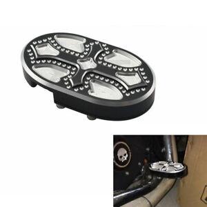 Brake Pedal Pad Cover For Harley Sportster XL883 XL1200 X48 Dyna Fat Bob V-Rod