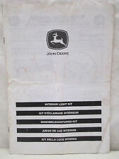 John Deere Interior Light Kit Installation Instructions Manual