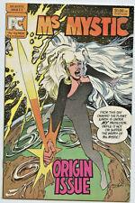 Pacific Comics: Ms Mystic #1 1st App. Ms Mystic by Neal Adams! VF+
