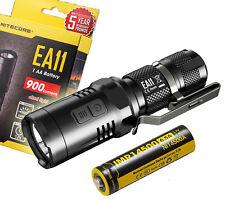NITECORE EA11 900 Lumens EDC Cree XM-L2 LED Flashlight w/ Rechargeable IMR 14500