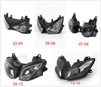 TCMT Front Head Light Fairing Stay Gauge Bracket Fits For 05-08 Kawasaki ZX636 ZX6R ZX6