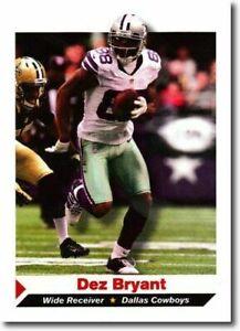 DEZ BRYANT 2013 DALLAS COWBOYS SPORTS ILLUSTRATED FOOTBALL CARD!