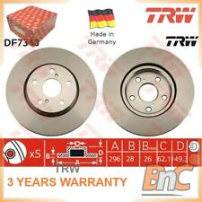 2x FRONT BRAKE DISC SET FOR LEXUS FOR TOYOTA TRW OEM 4351230310 DF7340 HD